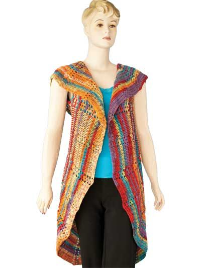 Crochet Pattern For Bohemian Shawl : Bohemian Circle Shawl Crochet Pattern DIY clothing and ...