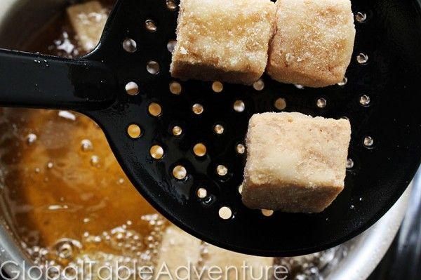 Deep Fried Tofu Squares   Recipe