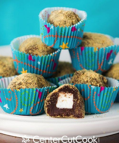 mores Truffles | Recipe