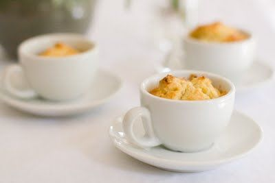 High Tea Cupcakes – Orange Cranberry Scones Baked in Teacups ...