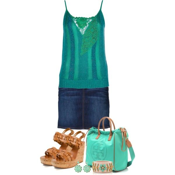 Tory Burch Fun Teal