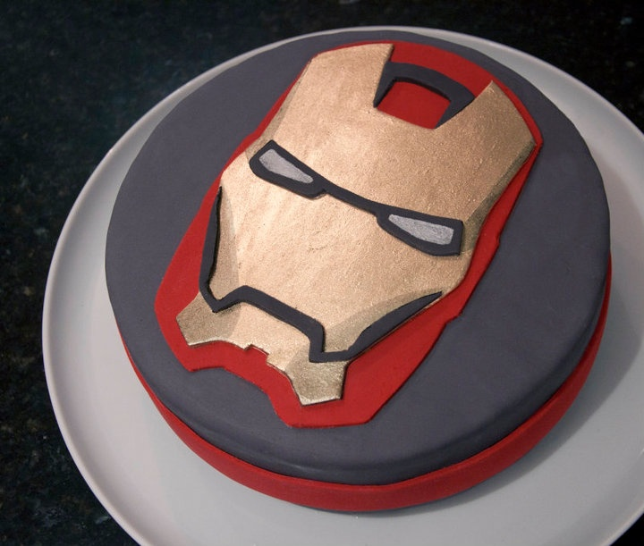 Iron Man Cake - Torta de Iron Man