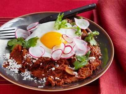 Chicken Chilaquiles With Fried Eggs Make with Low Carb Almond Flour ...