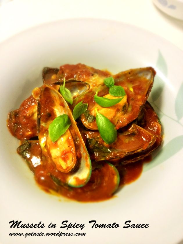mussels in spicy tomato sauce | Green with envy_New Zealand Greenshel ...