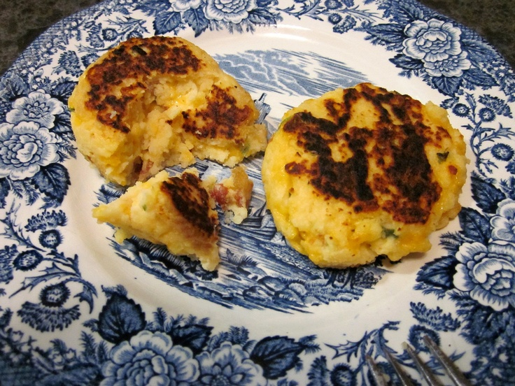 how to make parmesan potato cakes