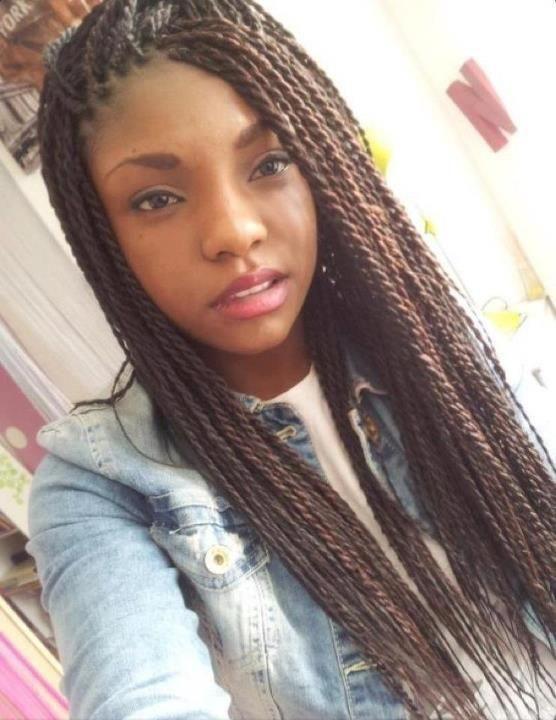 Brown Senegalese Twists