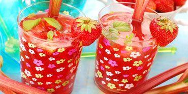 Rhubarb Iced Tea | Beverages | Pinterest