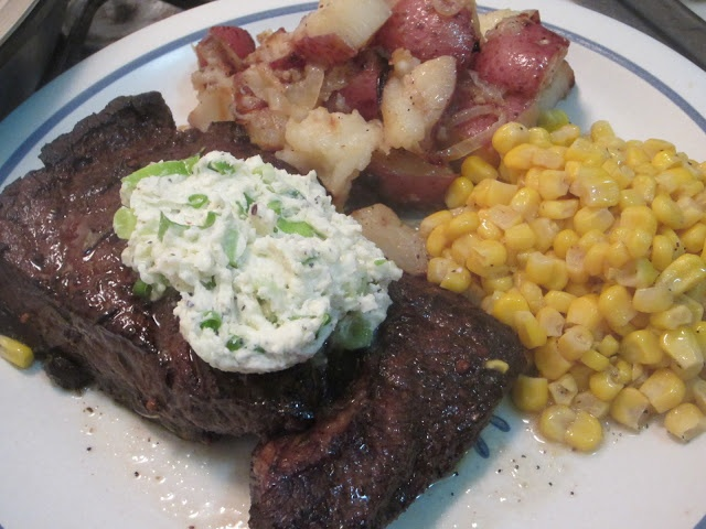 Delicious Dilemmas: Balsamic Marinated Steak with Gorgonzola-Herb ...