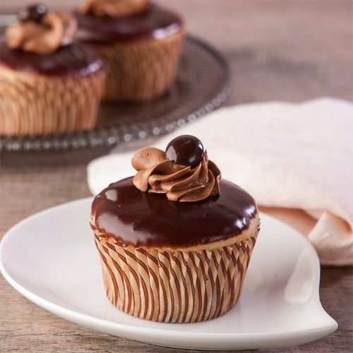 Vanilla Chocolate Chunk Mocha Cupcakes just for you, eat up! Gluten ...