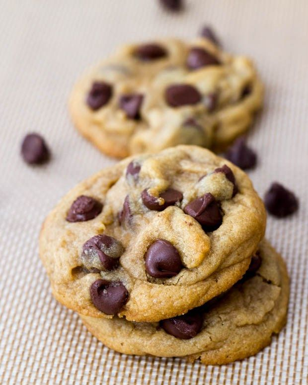 Puffy Chocolate Chip Cookies