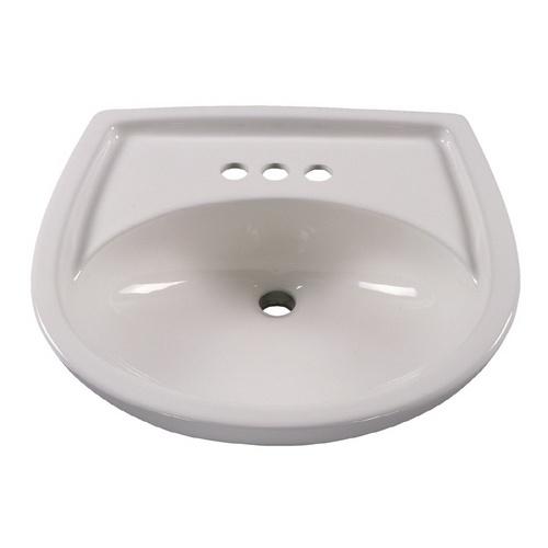American Standard Pedestal Sink Lowes : American Standard Colony White Pedestal Sink Top (4