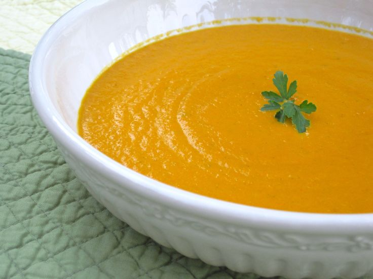 Carrot Ginger Soup | ღThe Majick Kitchenღ ~ Soups, Broths, Chilis ...