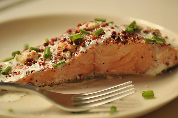 Gojee - Salmon Papillotes with Red Peppercorns, Lime and Fresh Ginger ...