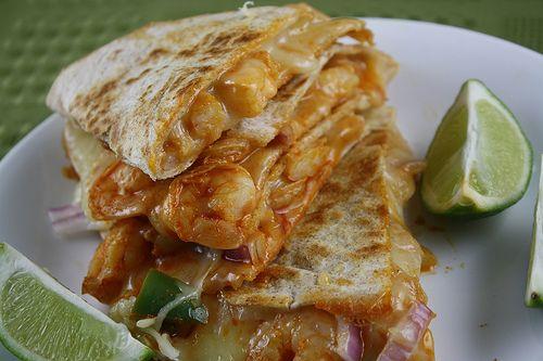 Shrimp Quesadilla | Food | Pinterest