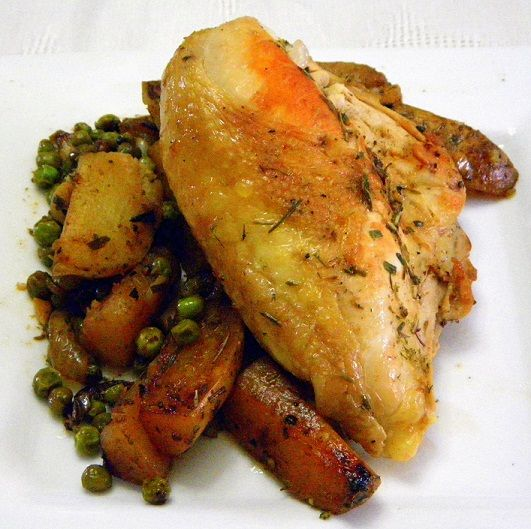 Chicken Vesuvio ala Wives With Knives | Chicken Every Day & Every Way ...