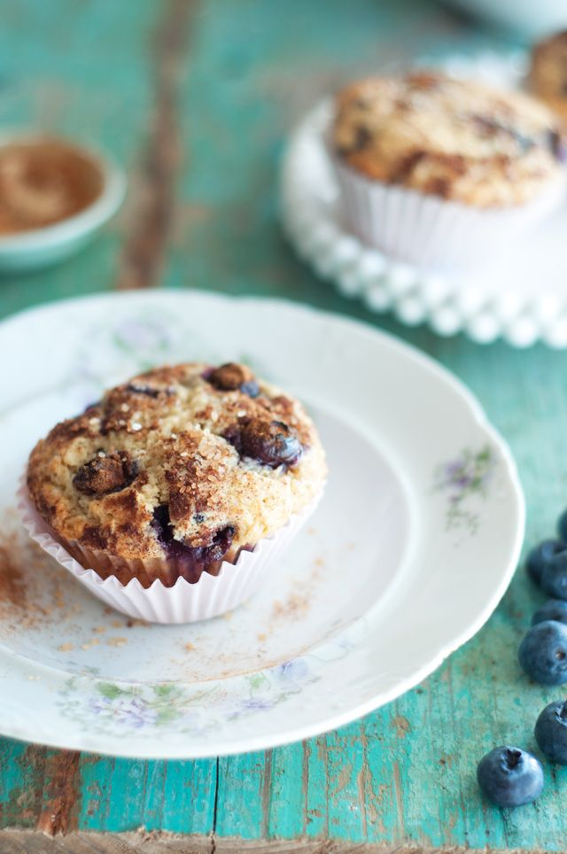 Marshalls Abroad: Blueberry Lemon Yogurt Muffins with Cinnamon Sugar ...
