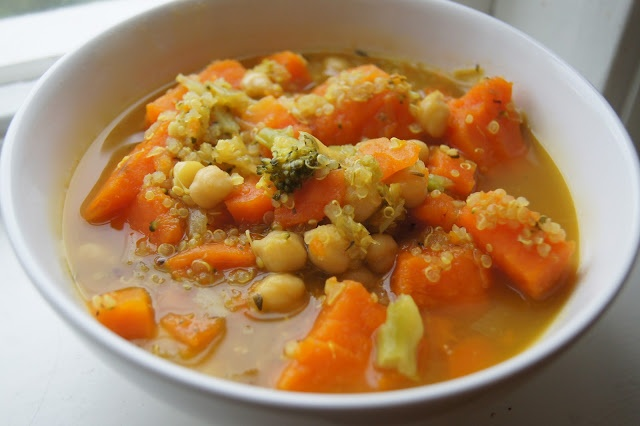 Quinoa, Sweet Potato and Chickpea Stew | Quinoa Recipes | Pinterest