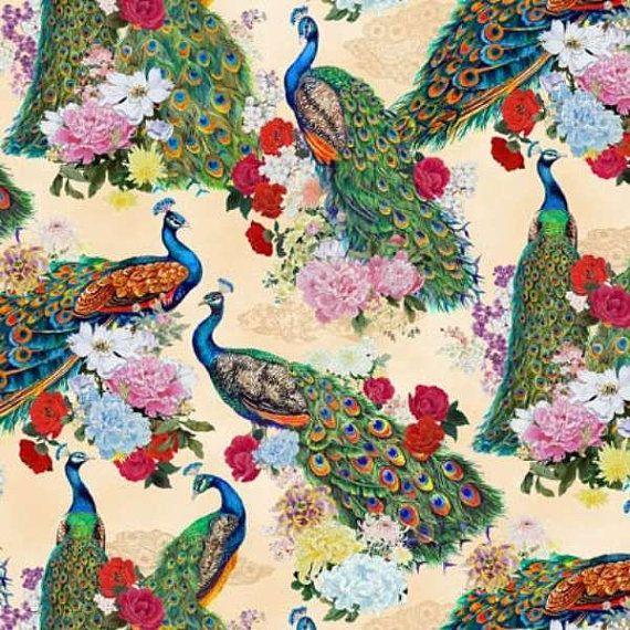 Peacock print designs