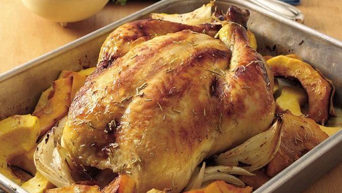 Rosemary Roast Chicken   Recipe