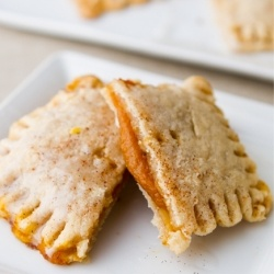 Vegan pumpkin pie pockets | Yum | Pinterest