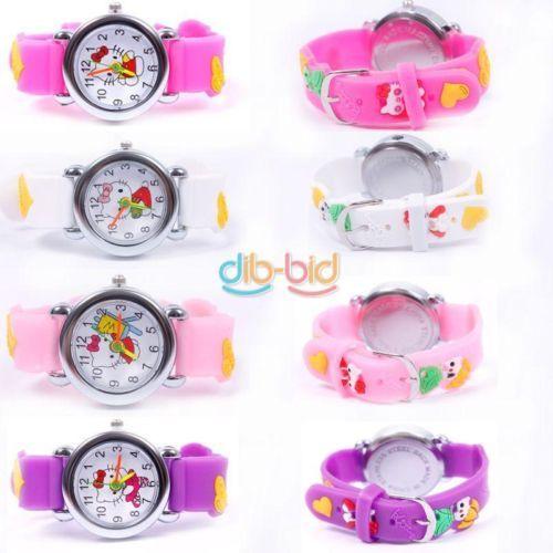 Cartoon-3D-Cat-Child-Kids-Girls-Analog-Quartz-Wrist-Watch-Rubber-PU-Leather-Gift **************************************** שעון יד בסגנון קיטי לבנות רק ב 6.5 שקל כולל משלוח חינם