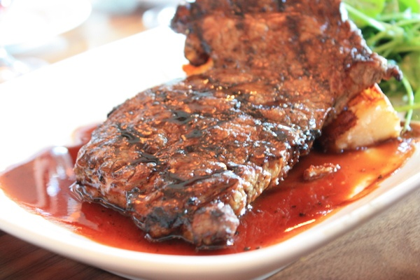Grilled Marinated Hanger Steak Recipe — Dishmaps