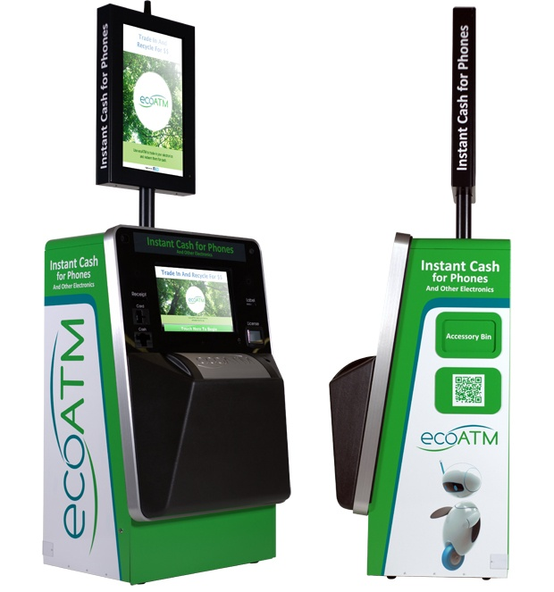 ecoATM Kiosk Pays Owner for Used Gadget