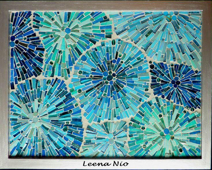 MOSAIQUE MAGIQUE aqua-turquoise-seafoam Pinterest