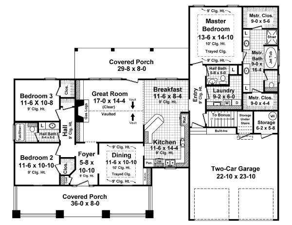 1900 Square Feet 3 Bedrooms 2 5 Baths Dream Home