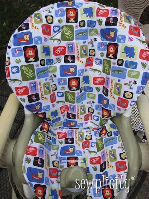 Fisher price space saver high chair cover jungle box 45 00 via