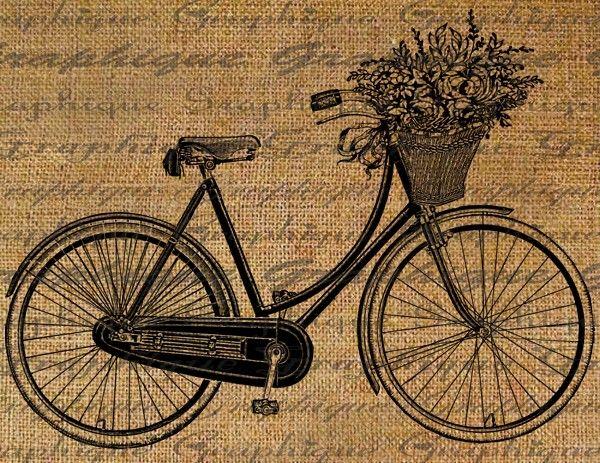 Vintage Bicycle Basket 56