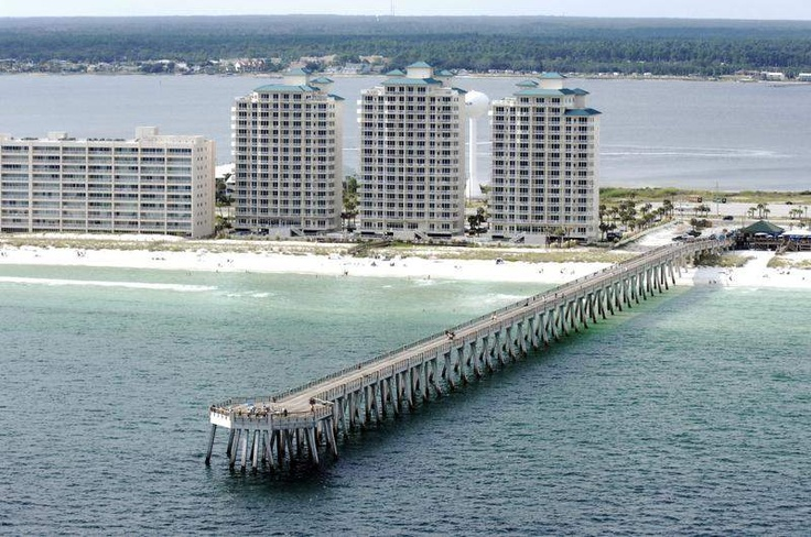 Navarre beach pier 1550 feet pensacolalife pinterest for Navarre fishing pier