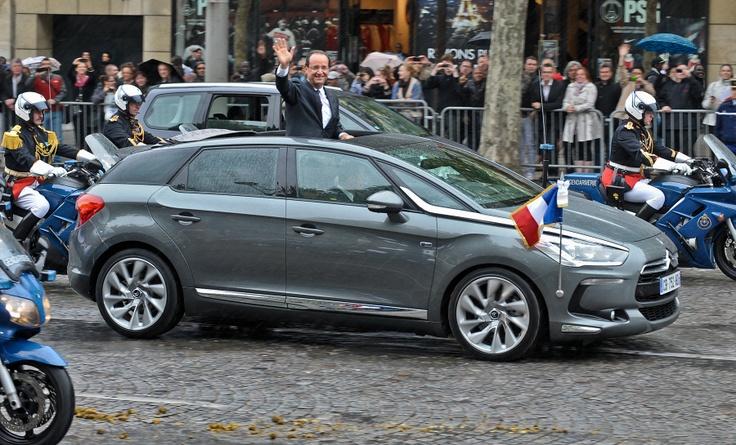 François Hollande, Citroën DS5 Hybrid4