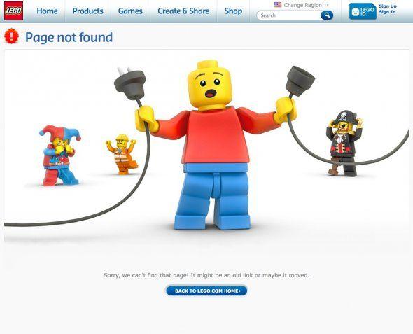 404錯誤頁面 範例