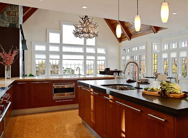 Another Big Beautiful Kitchen For The Home Pinterest