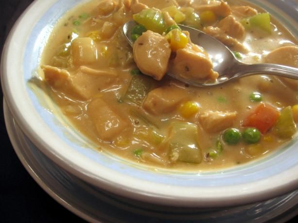 Chunky Chicken Soup Recipe - Food.com - 275958