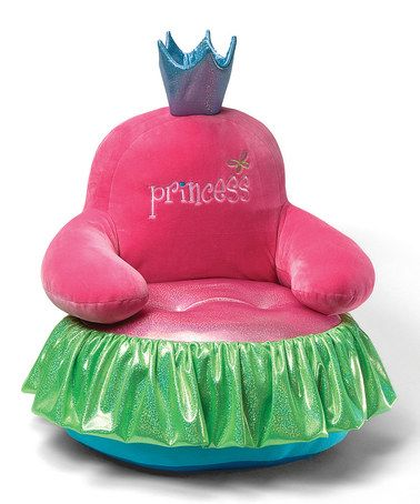 Look at this kids princess throne chair by gund on zulily today