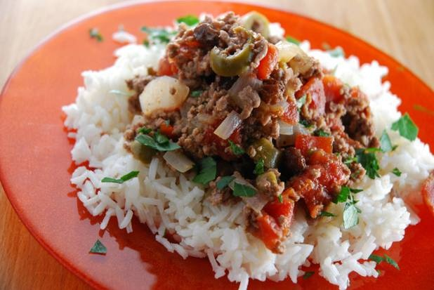 Havana with Cuban Style Picadillo. Try recipe with ground turkey. From ...