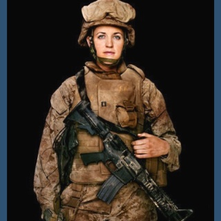 Female marine=straight respect.