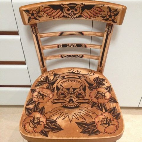 Tattoo Chair House Fancy