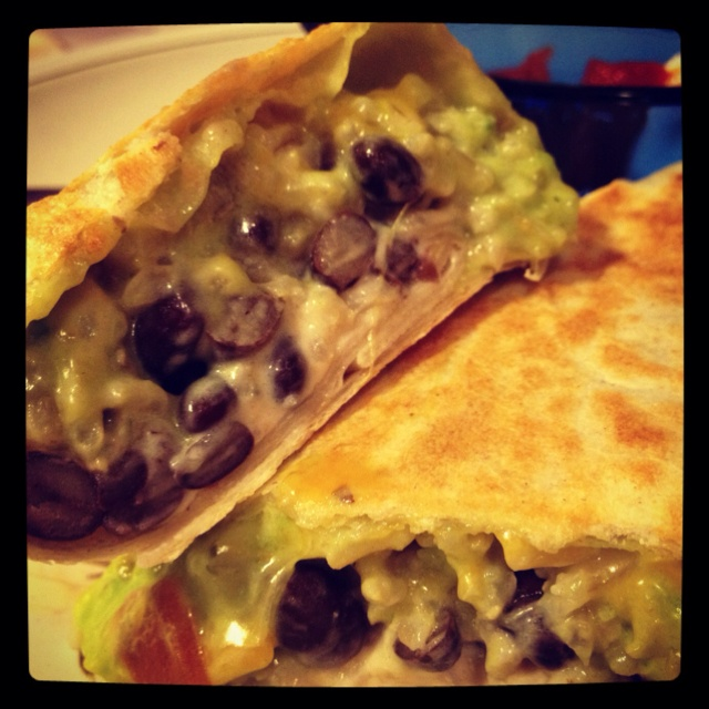Black Bean and Guacamole Burrito | My Photography | Pinterest
