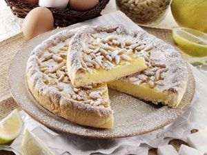lemon tart italy on my mind lemon pine nut lemon tart with pine nut ...