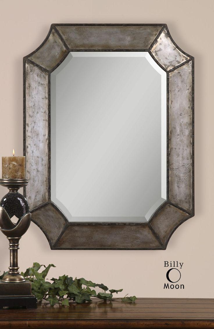 Uttermost Elliot Distressed Aluminum Mirror