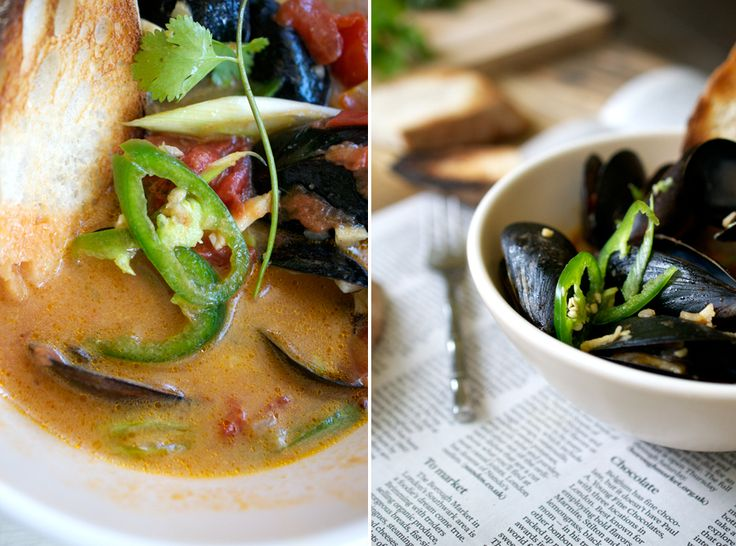 thai-style mussels | Up Close & Tasty | Pinterest