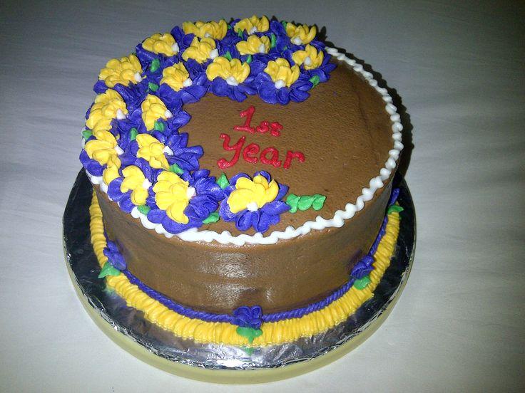 Chocolate Cake Designs For Anniversary : ANNIVERSARY CHOCOLATE CAKE MY CAKES Pinterest