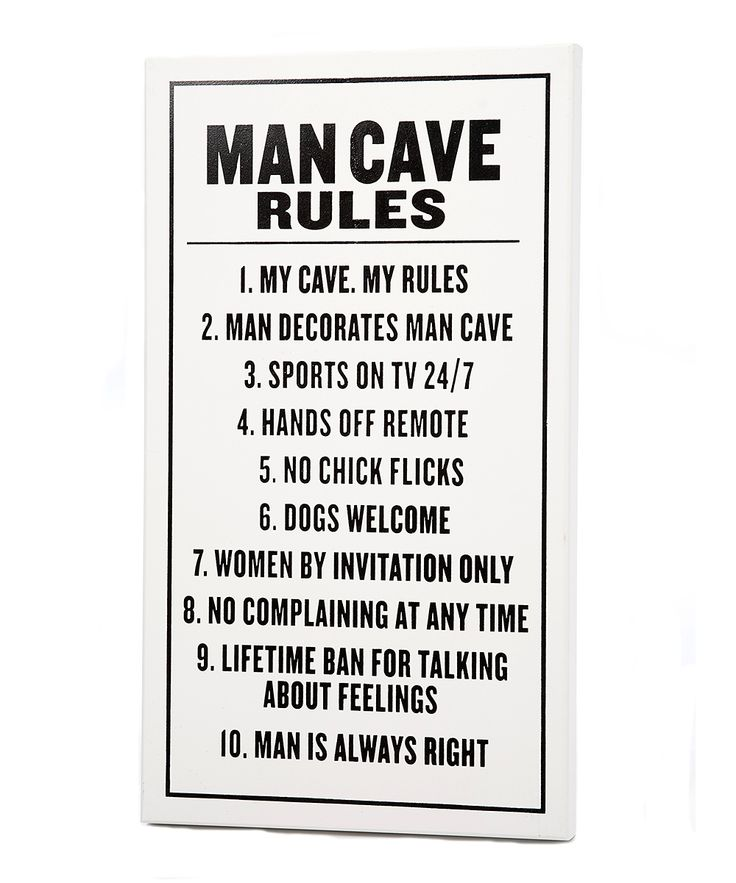 Man Cave Rules Sign Australia : Man cave rules sign stuff for my future home pinterest