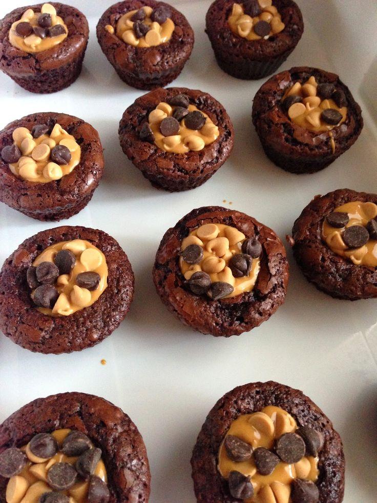 Peanut Butter Brownie Bites | Favorite Recipes | Pinterest