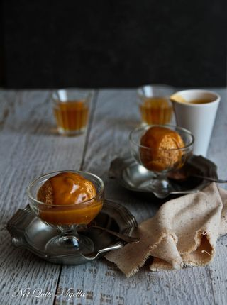 Fried Ice Cream With Butterscotch Sauce | The Foodie Files | Pinterest