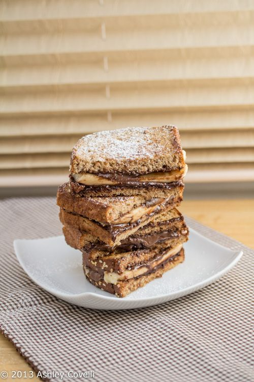 Grilled Nutella and Banana Sandwich | Food and sweets | Pinterest