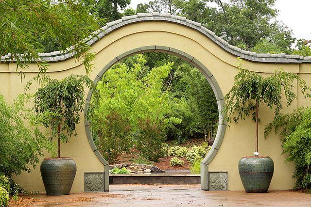 Asian bamboo garden entrance japanese garden pinterest for Japanese garden entrance